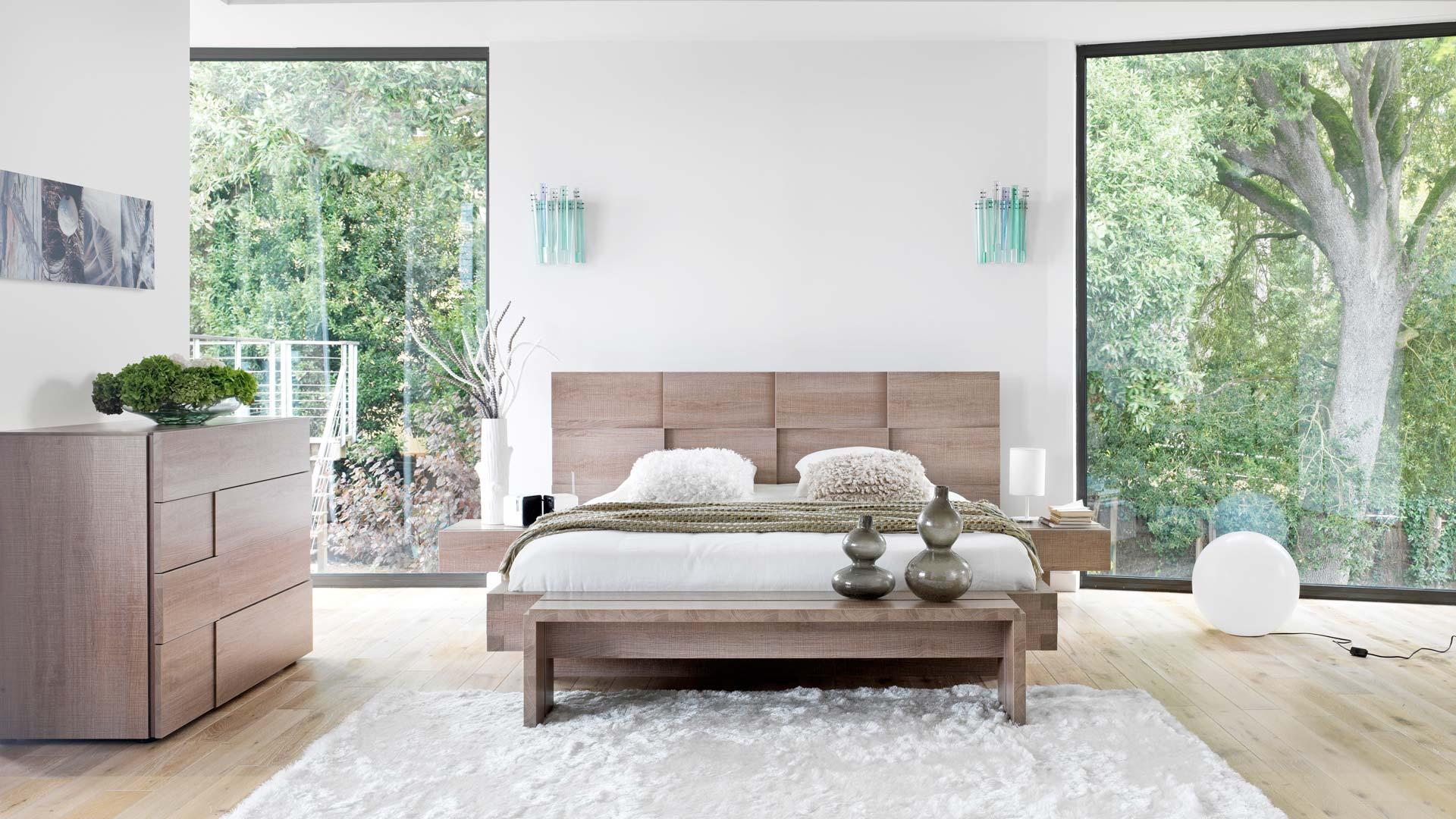 Gautier, meuble, maison, chambre, lit, commode